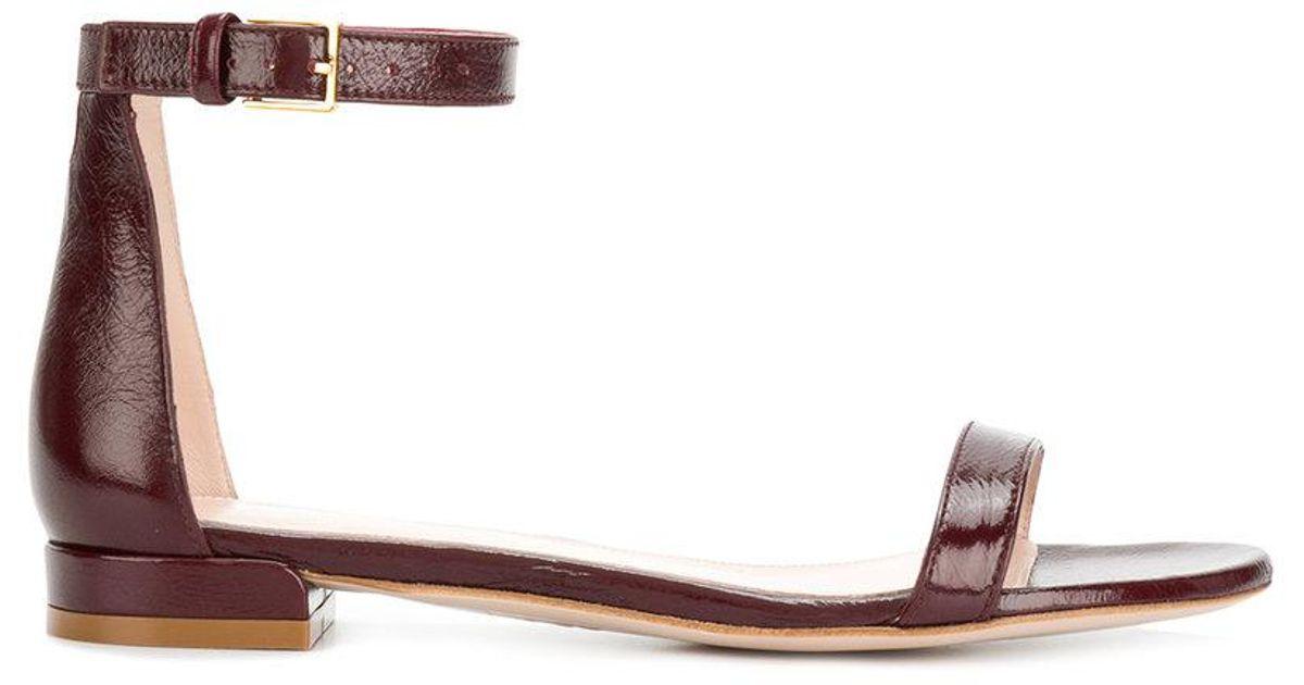 20LessNudist sandals - Brown Stuart Weitzman NUz2pzD