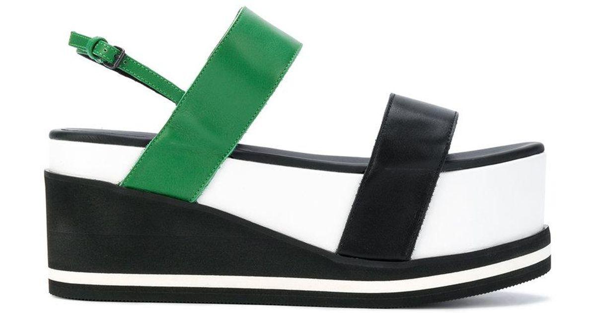 colour block flatform sandals - Multicolour A.F.Vandevorst IAyiGMewu