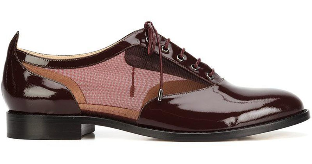 Chloe Gosselin Moonseed Chaussures Rouge Oxford Rouge Chaussures gKv2P1B2 55bab0