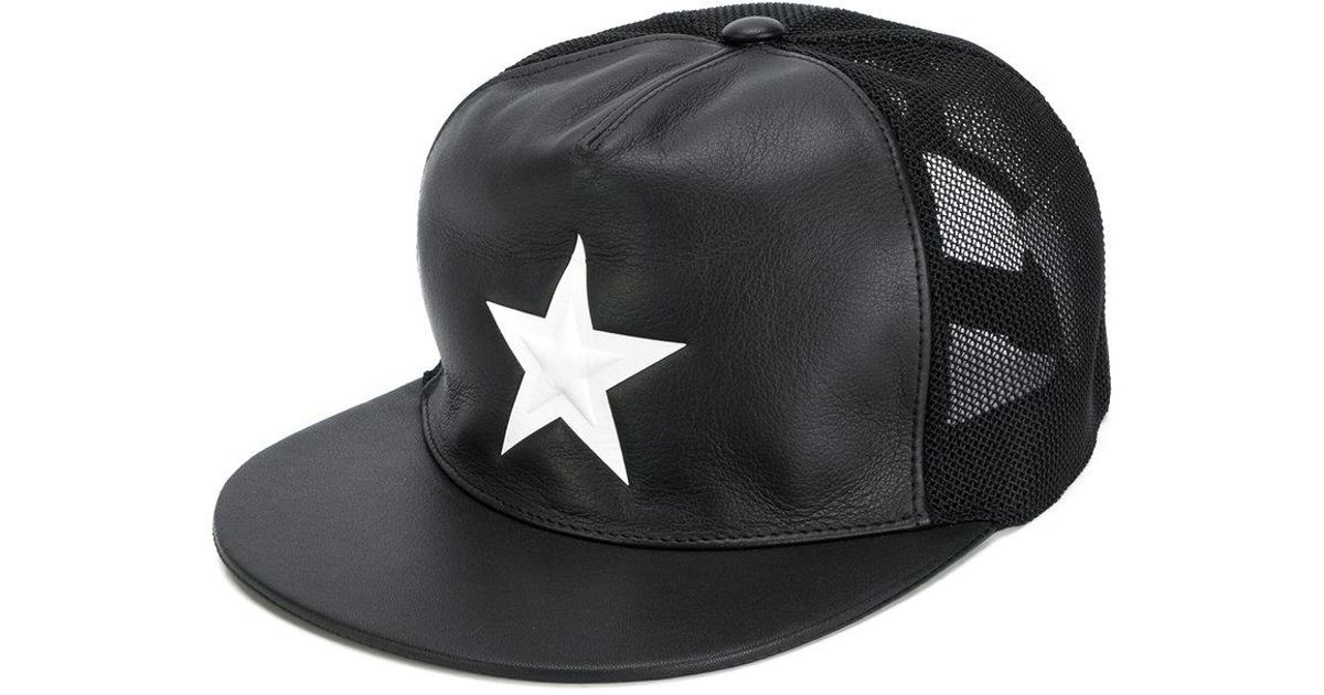 df7a85c52bc Lyst - Givenchy Star Cap in Black for Men