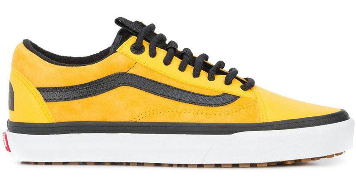 b204b5c3257de7 Lyst - Vans X The North Face Old Skool Mte Dx Sneakers in Yellow for Men