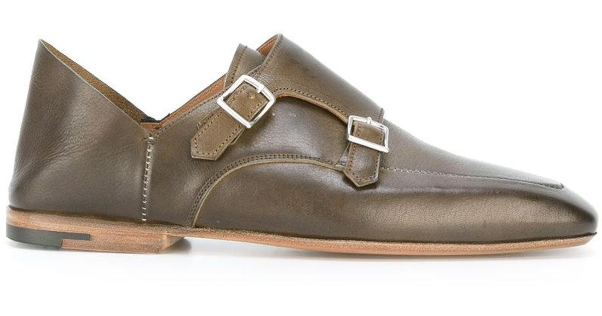 Elba monk shoes - Brown Premiata