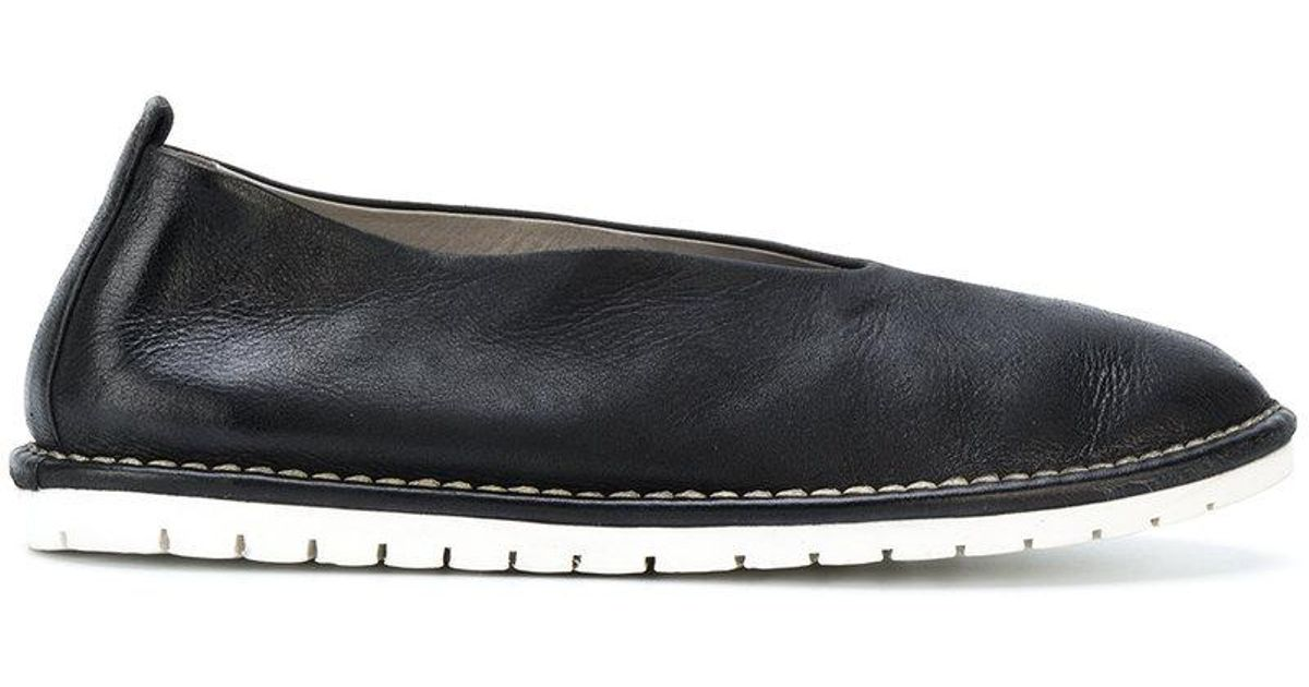 MARSèLL Contrast sole slippers