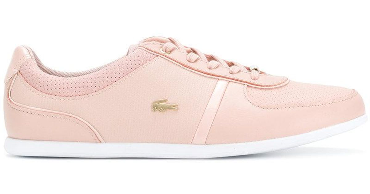 6cb8412cfb542c Lyst - Lacoste Classic Low-top Sneakers in Pink
