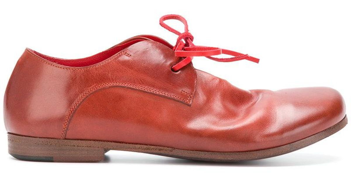 round toe Oxford shoes - Red Mars p9fvQTHx