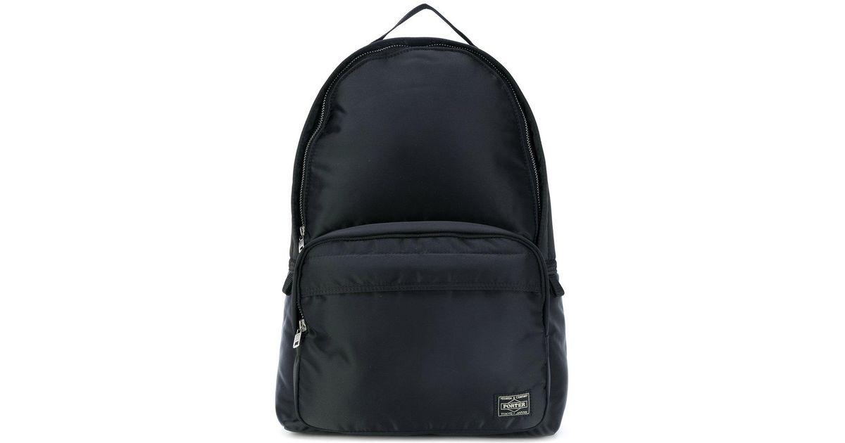 f5a10314e1f3 Porter Tanker Backpack in Black for Men - Lyst