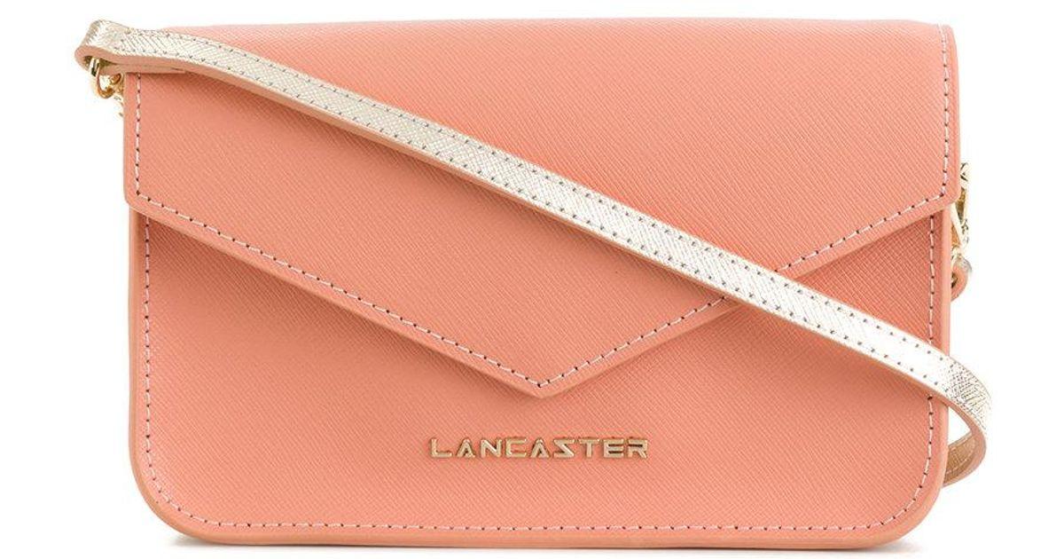 envelope clutch - Pink & Purple Lancaster IvPYJM5gvD