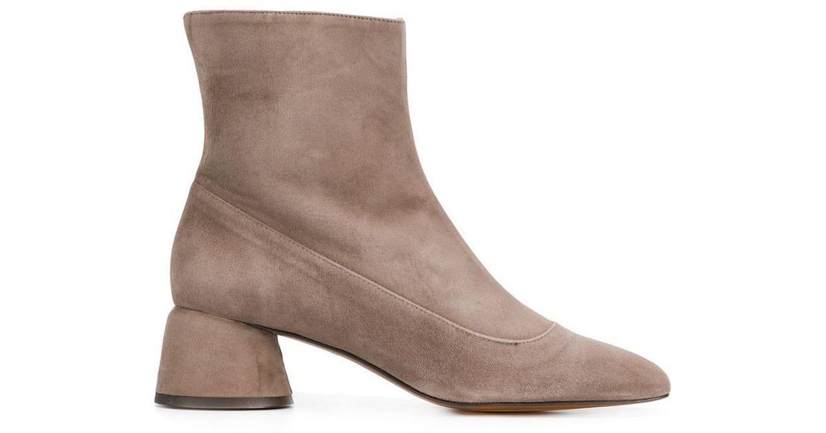 Leto Lyst Gray Boots Castaner Ankle In HBOqqx6d