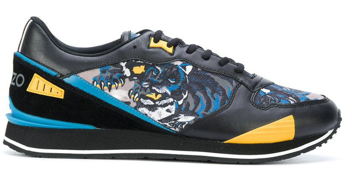 Men Sneakers K For Flying In Lyst Run Kenzo Tiger Black qBfwzX