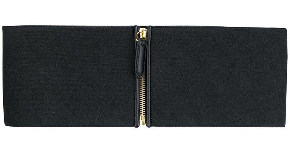 elasticated waist belt - Black Stella McCartney p0kQD