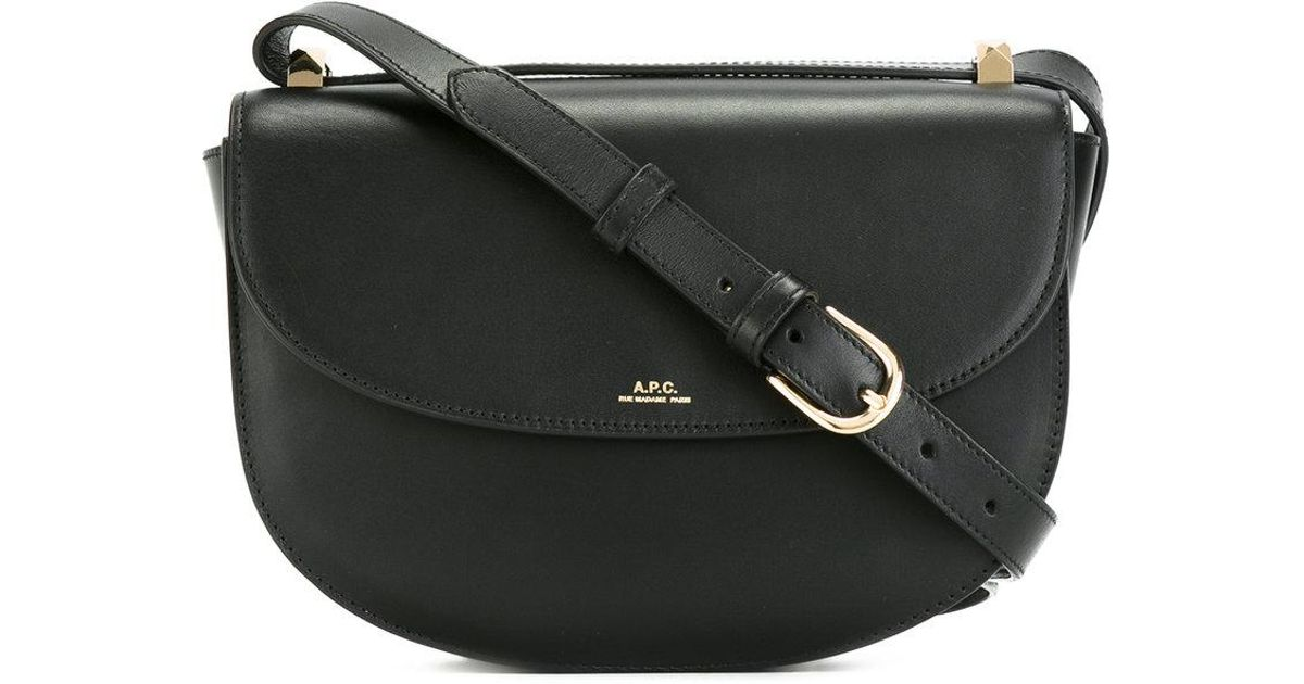 8b59b91a6b Lyst - A.P.C. Crossbody Saddle Bag in Black