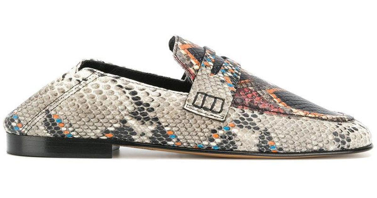 00302e028de Isabel Marant Fezzy Loafers in Gray - Lyst