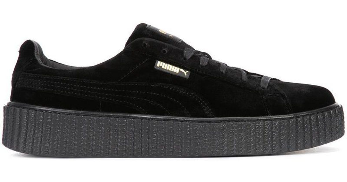 pretty nice 902ce 0d827 PUMA - Black Velvet Creepers for Men - Lyst