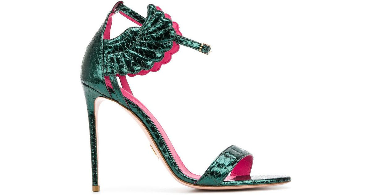 Malikah sandals - Green Oscar Tiye 7wnL6Q