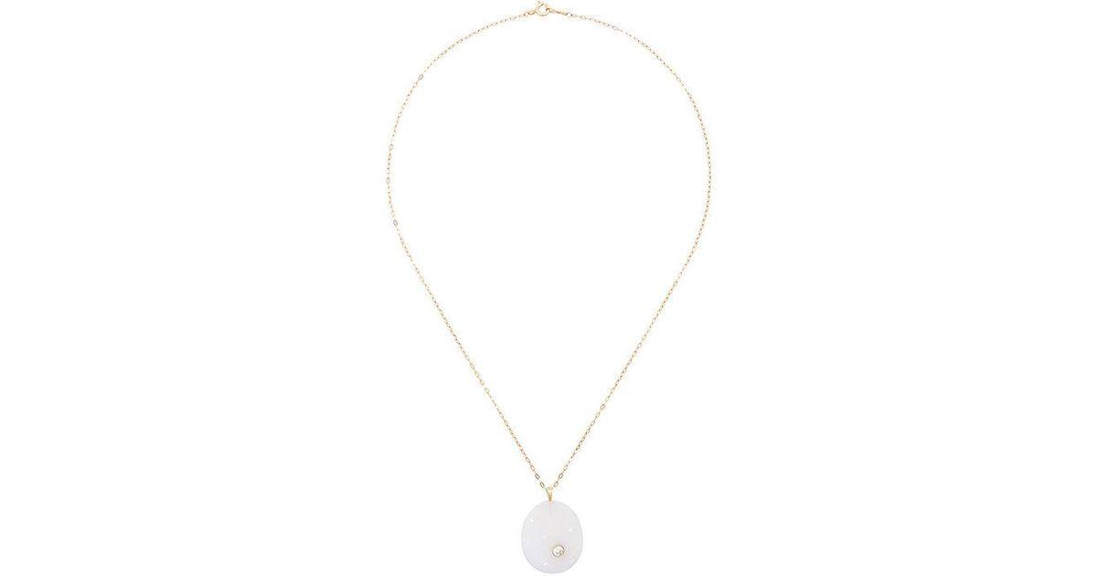 CVC Ischia diamond pebble necklace - Metallic IMpT8m1zp0