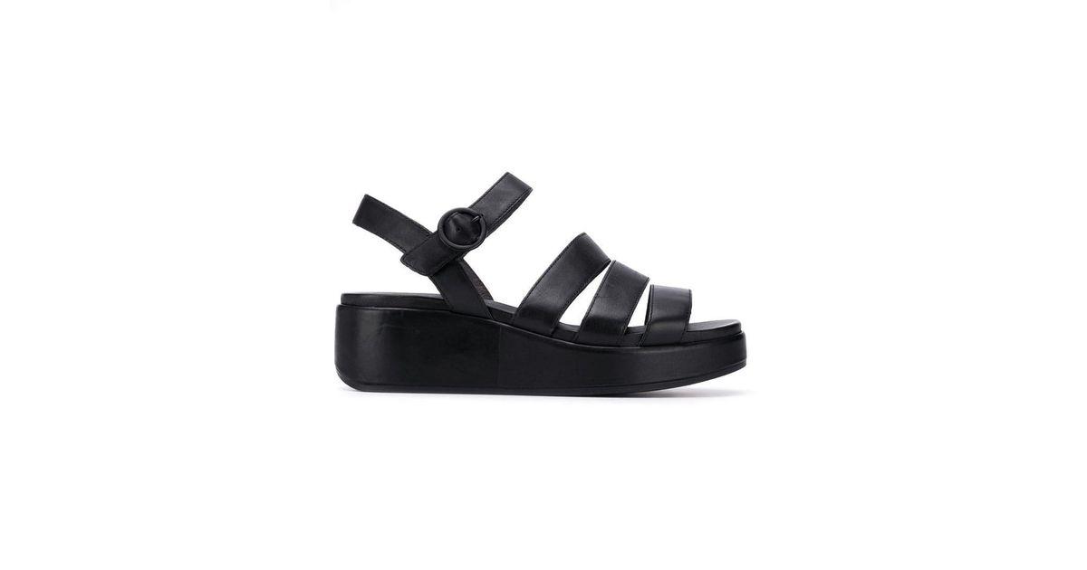 ef62dd7179a Lyst - Camper Misia Sandals in Black