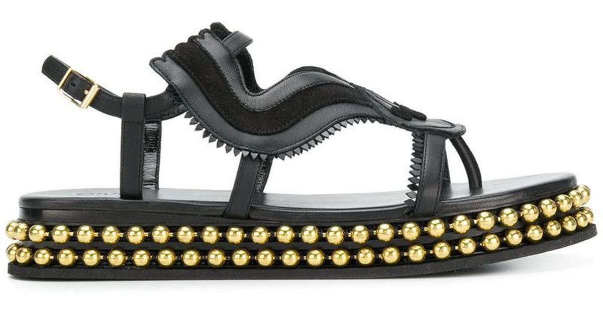cheap exclusive wide range of online Chloé almond toe studded sole sandals nVEschYRdZ