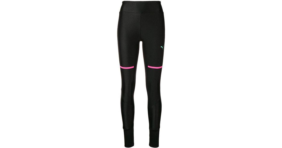 3502646664735 PUMA Chase leggings in Black - Lyst