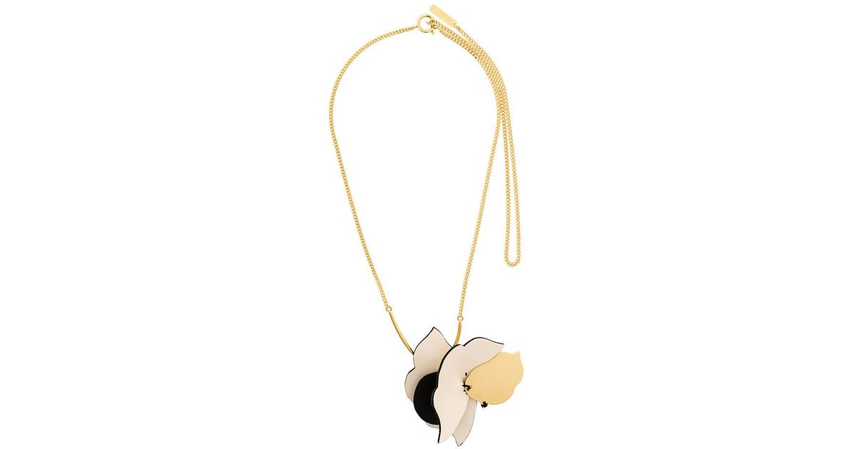 Marni asymmetric necklace - Metallic vhztlSPA