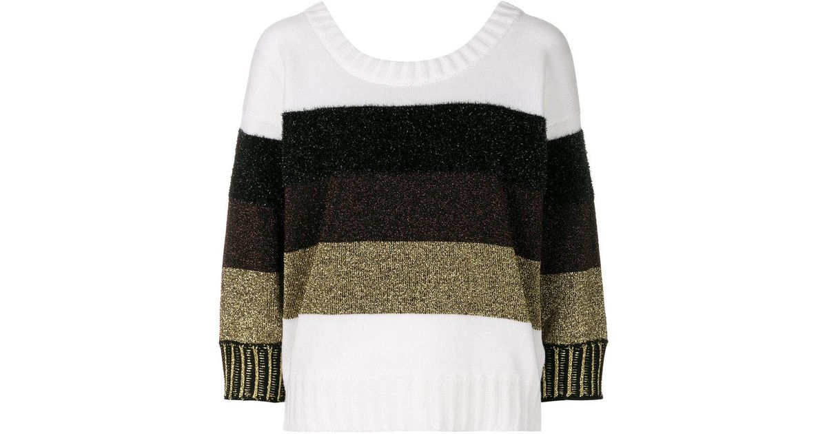 striped jumper - Multicolour Just Cavalli Discount Amazing Price Sale With Paypal SlEsx