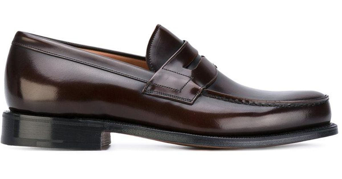 0485aa3a1fb Church s Wesley Penny Loafers in Brown for Men - Lyst