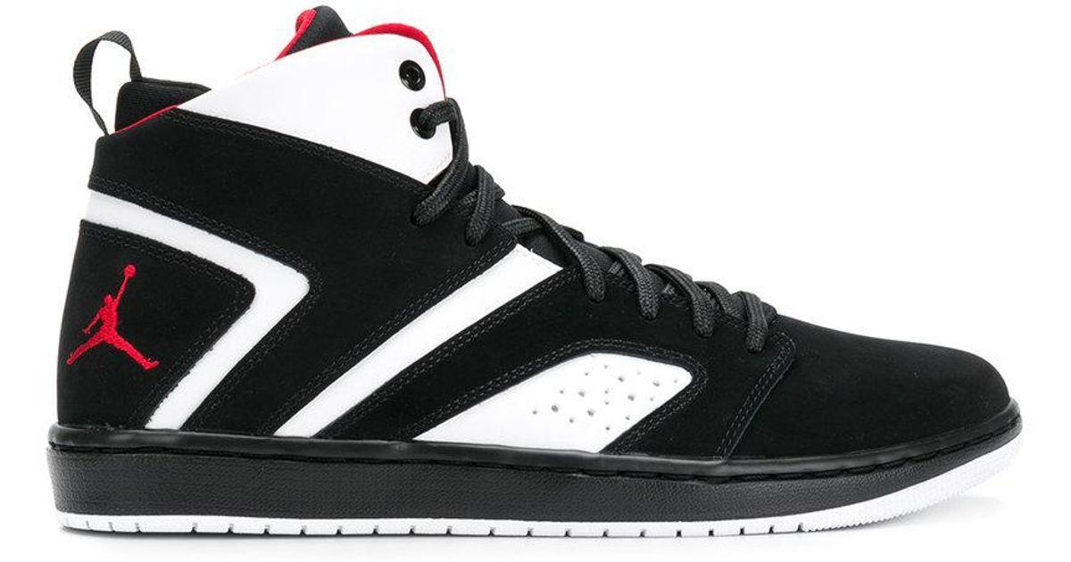 Lyst - Nike Jordan Flight Legend Sneakers in Black for Men 37bcace36