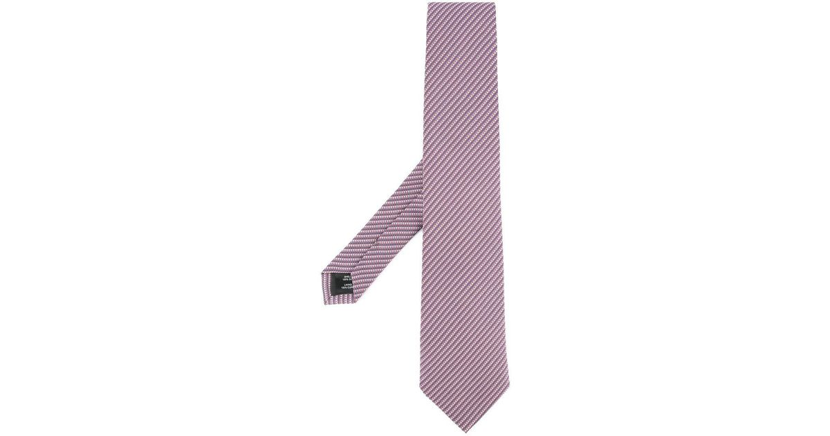 embroidered tie - Multicolour Gieves & Hawkes PQI40UQw