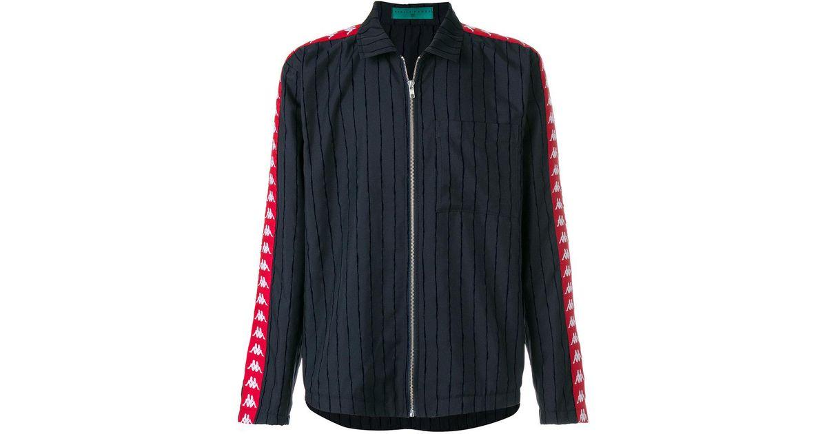 Lyst los Side Striped azul hombres en Band Paura camisa chaqueta Kappa X  para Danilo 7r467qwa b2ff480149cb0
