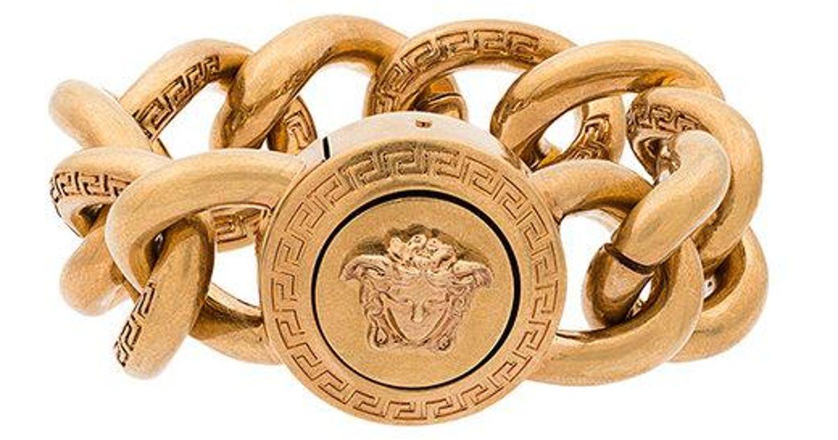 Large link Medusa bracelet Versace HKLwoKz4