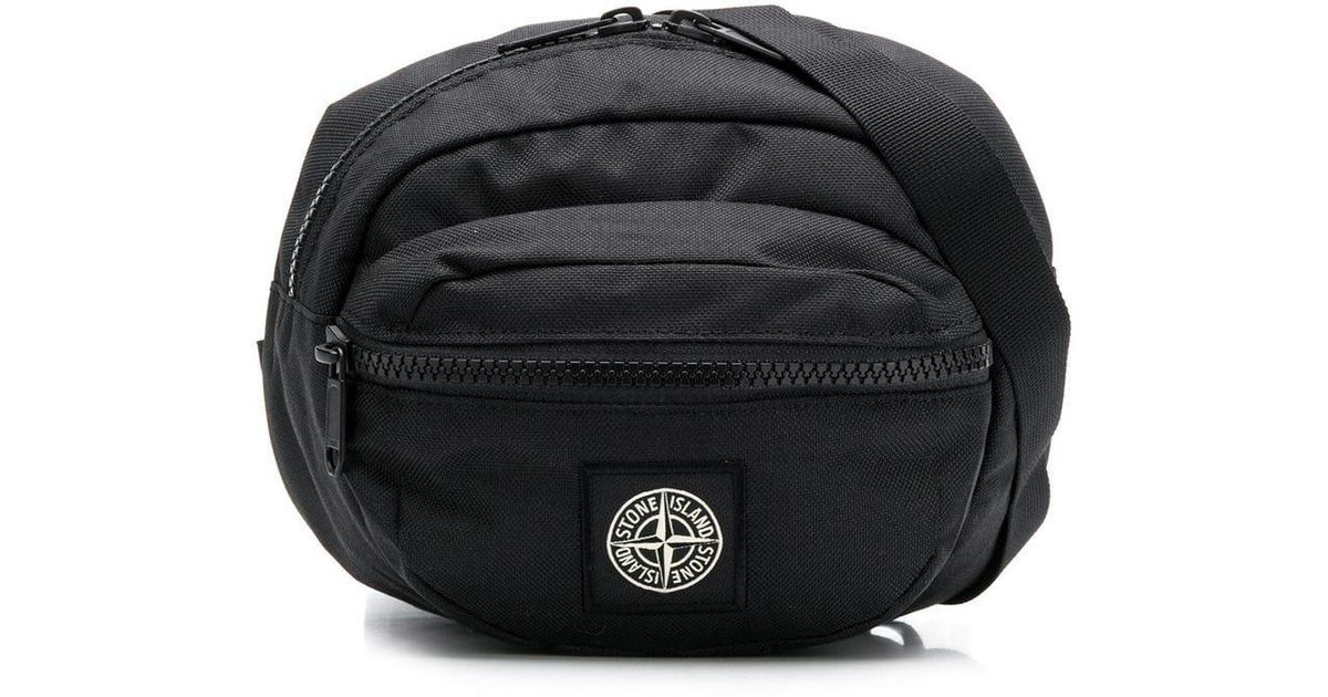 3471d2b45829 Lyst - Stone Island 90771 Belt Bag in Black for Men