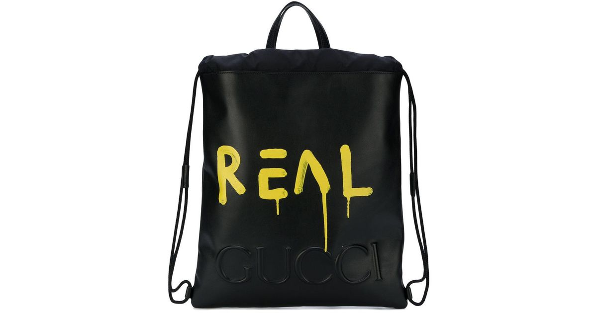 hot new products sale classic shoes Sac à dos Ghost Gucci pour homme en coloris Black