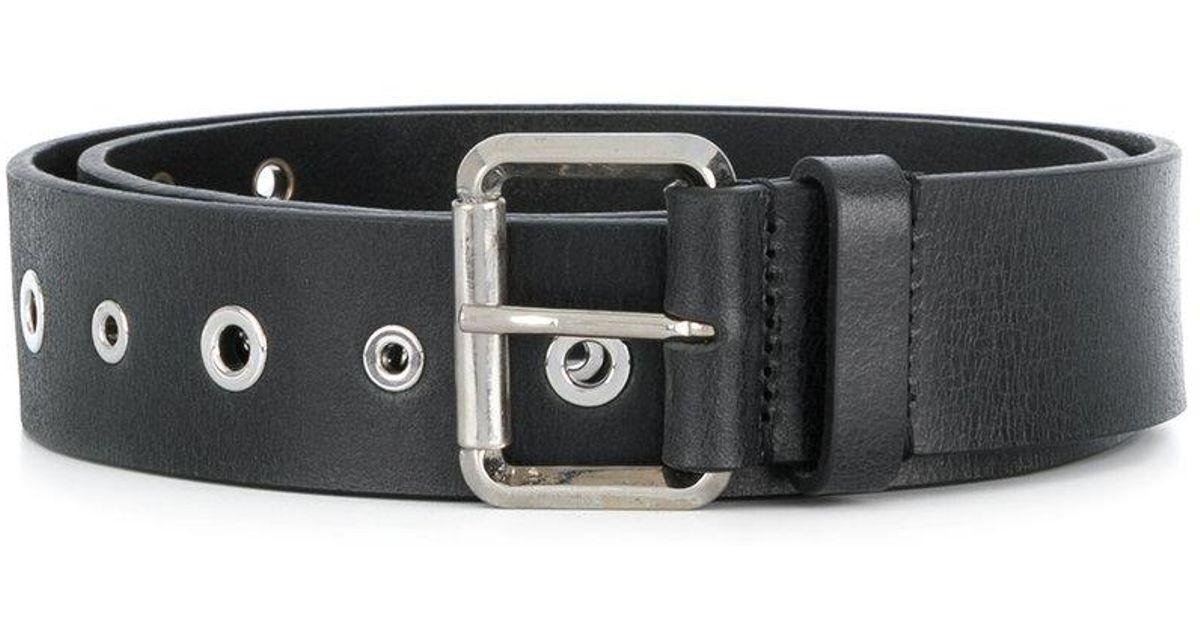 eyelet detail belt - Black Just Cavalli o6PVpK0I