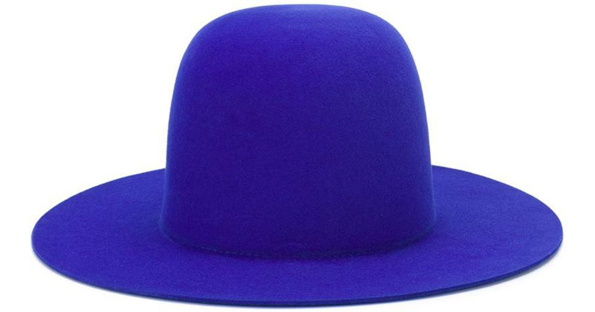 908a75a9f33 Lyst - Etudes Studio Panama Hat in Blue
