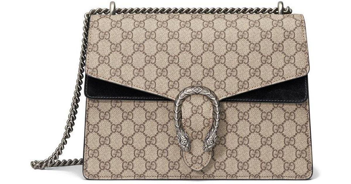 c9e9871cd63e Gucci Dionysus Medium GG Shoulder Bag - Lyst