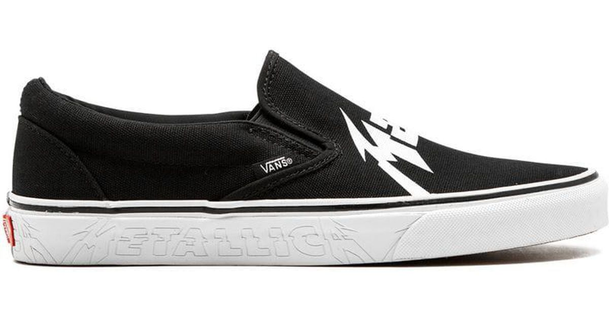 b2825dec78 Vans X Metallica Ua Slip-on Sneakers in Black for Men - Lyst