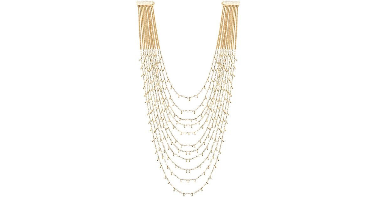 Rosantica Layered Snake Chain Necklace zoid2