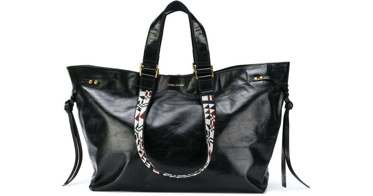 sale retailer 99d2c 86420 isabel-marant-Black-Bagya-Medium-Leather-Shopper.jpeg