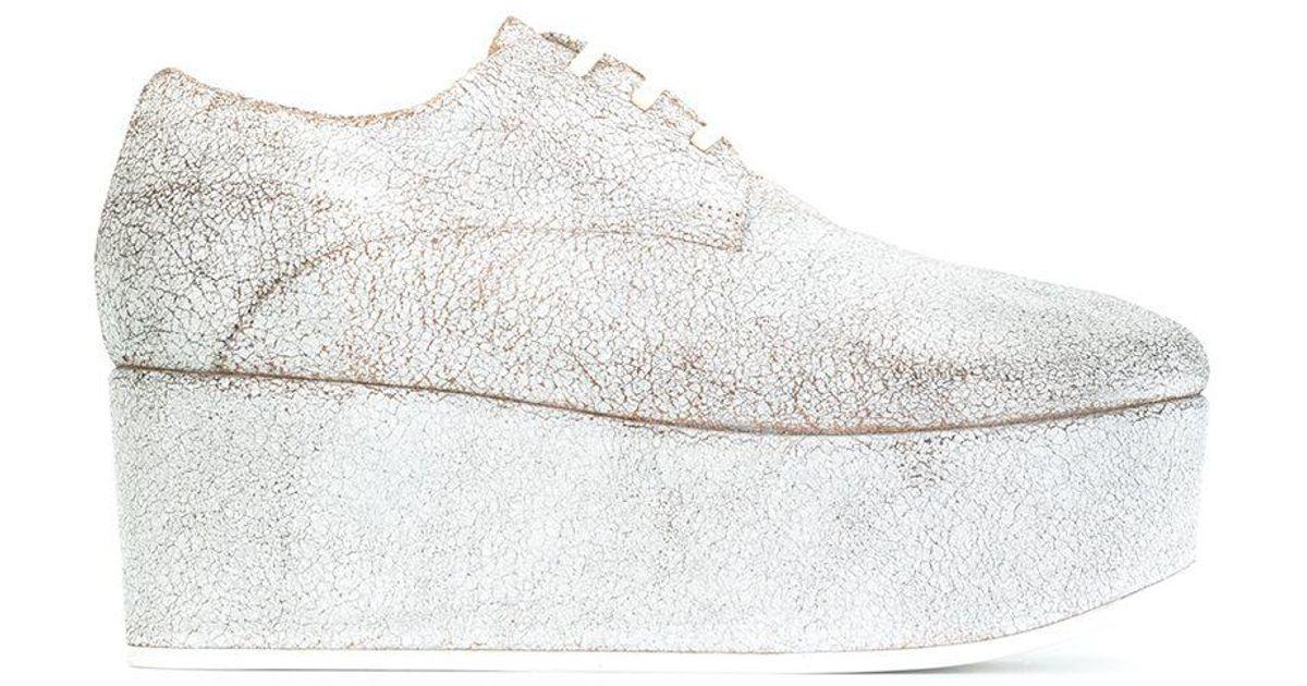 platform lace-up shoes - Grey Mars 3vhmIK