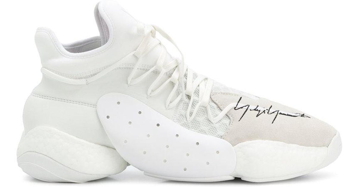 d65d1e401b43a Lyst - Y-3 X James Harden Byw Bball Sneakers in White for Men