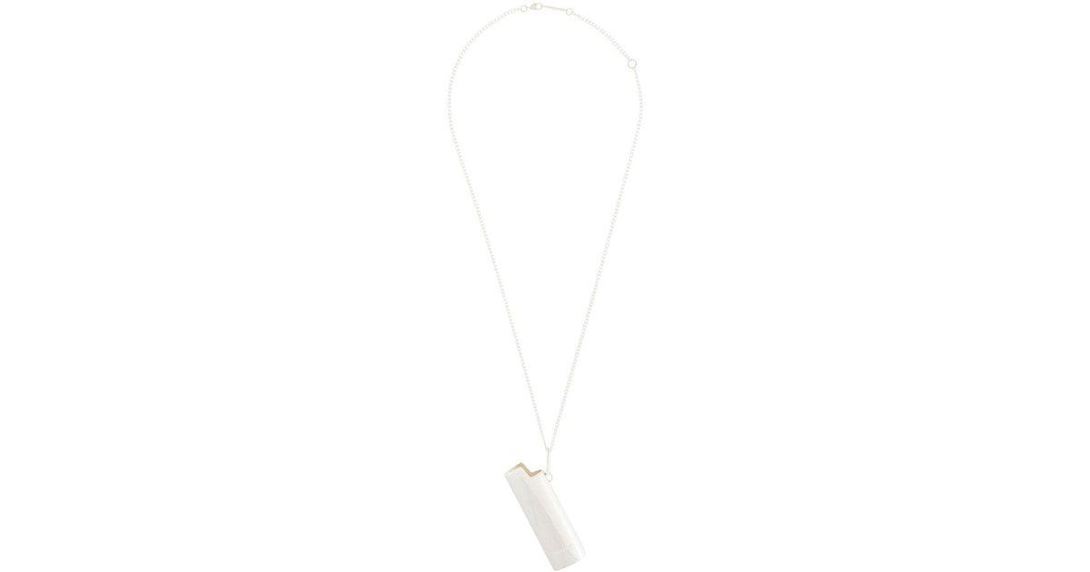 lighter pendant necklace - Metallic AMBUSH mkuKwjbf