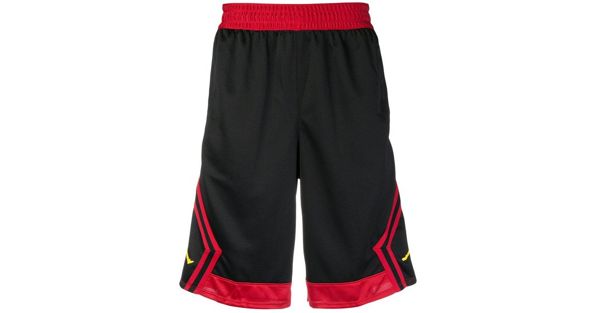4af62726c68 Lyst - Nike Jordan Rise Diamond Shorts in Black for Men