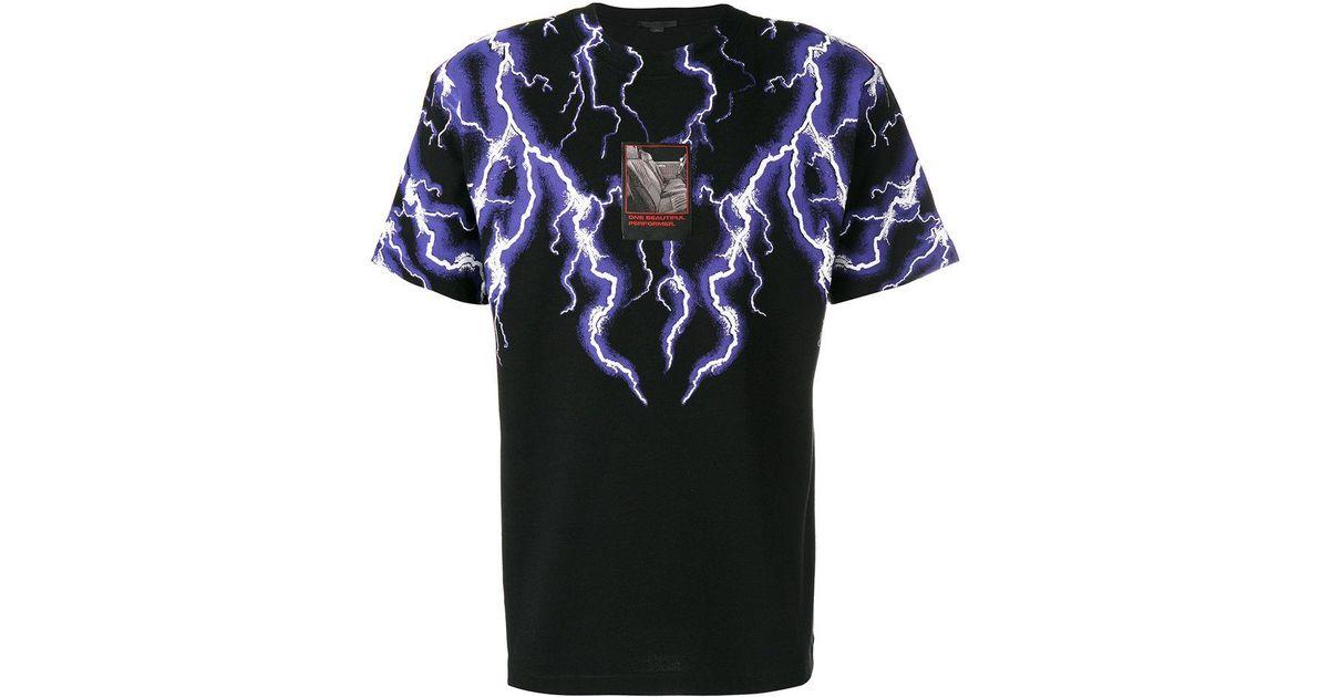 160f3c159 Alexander Wang Lightning Collage T-shirt in Black for Men - Lyst