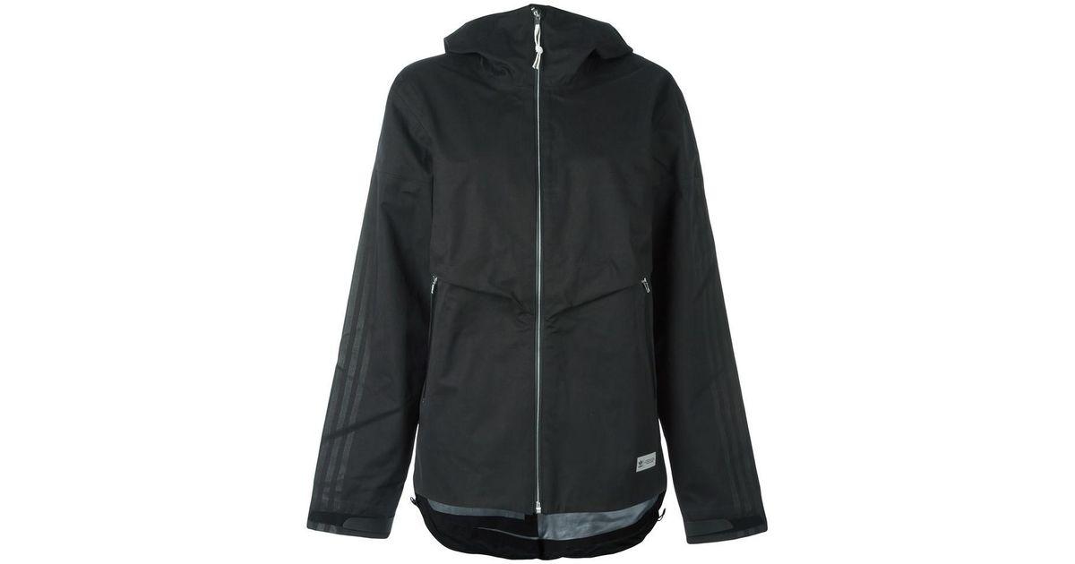 f9b1ba4857 Lyst - adidas Originals  freizeit  Shell Jacket in Black
