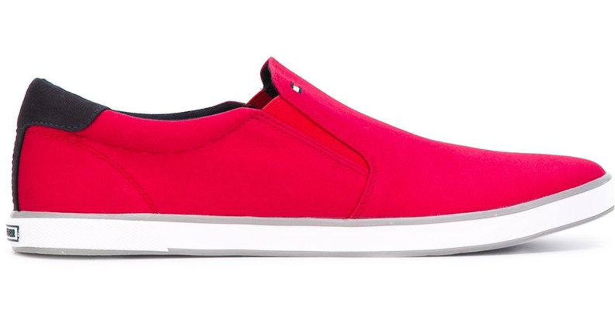 slip-on sneakers - Red Tommy Hilfiger Outlet Explore Cheap Sale Finishline Buy Cheap Amazon 5g0dIxJDH