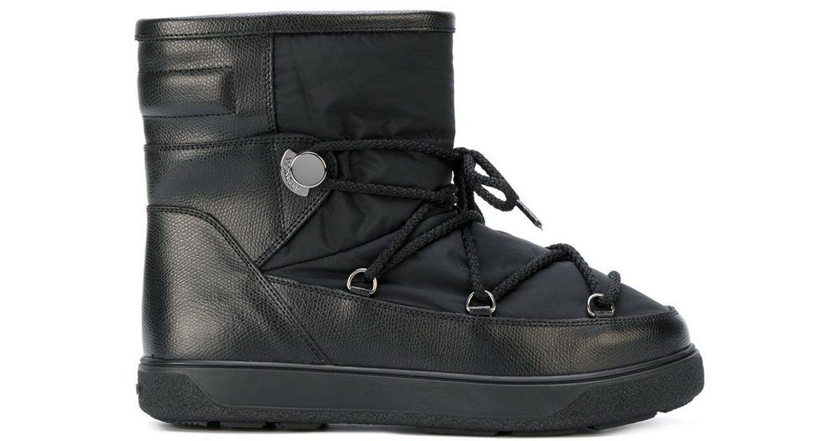 5a17c2fbb4d8 Lyst - Moncler New Fanny Snow Boots in Black