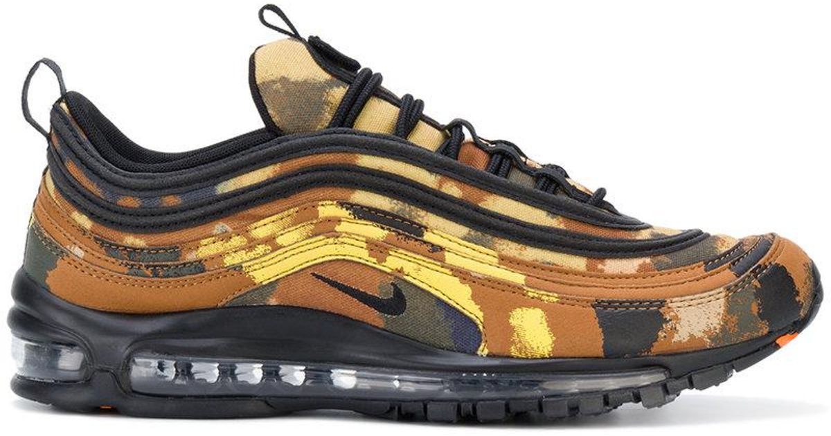 0b7c9ff8102 Lyst - Nike Air Max 97 Premium Qs Country Camo Sneakers in Brown