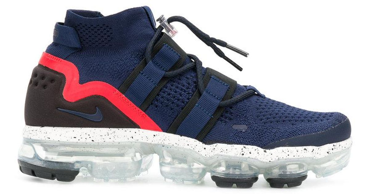 d9eaf47a3dbe Nike Lab Air Vapormax Flyknit Utility Sneakers in Blue for Men - Lyst