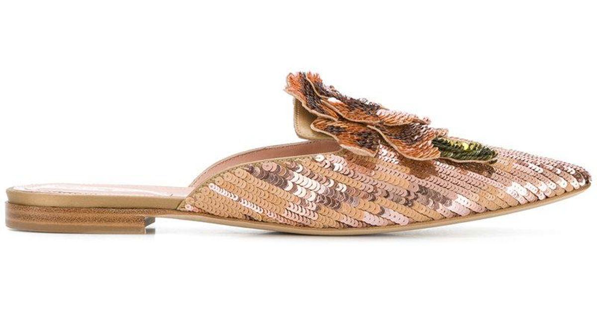 pointed sequin sandals - Pink & Purple Alberta Ferretti mWTNfcwsnL