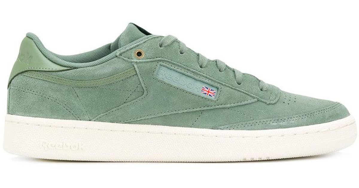 Lyst - Reebok Club C 85 Montana Cans in Green for Men 0ac19c66e