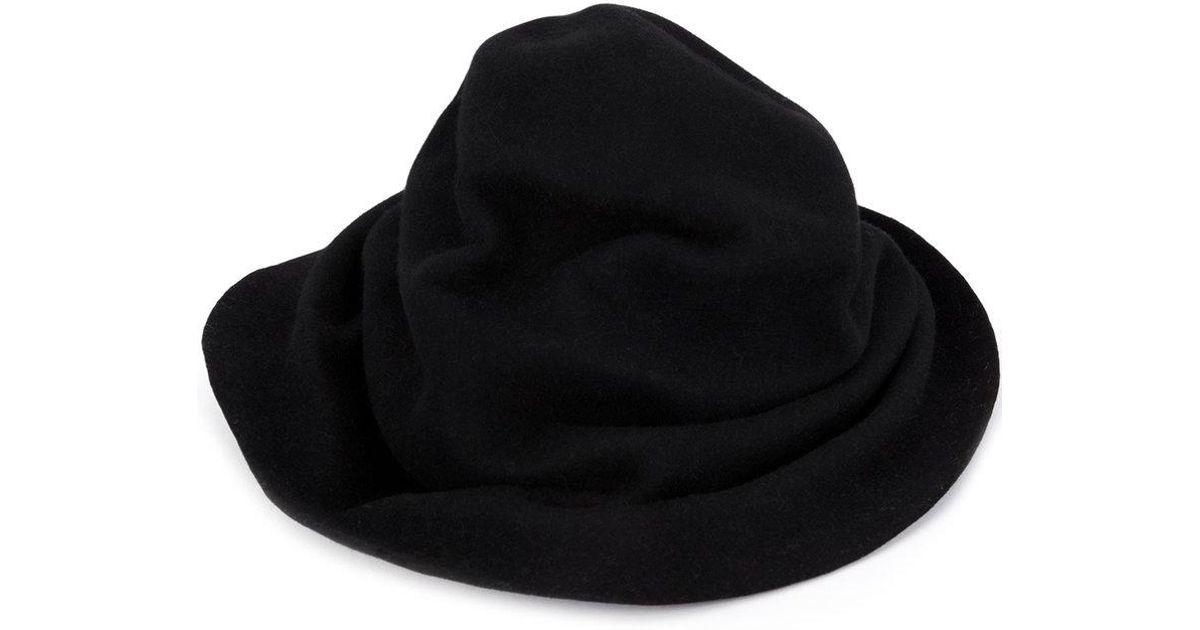 Lyst - Horisaki Design   Handel High Fedora Hat in Black for Men ecc369c53bdb